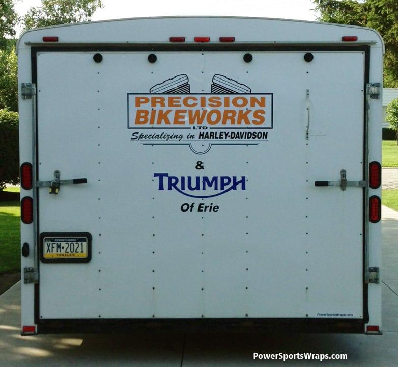 24 foot trailer graphics Triumph