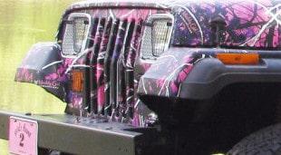 Muddy Girl Jeep