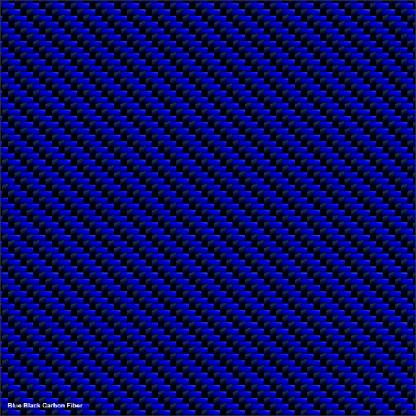 Blue Black Carbon fiber 2019