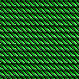 Green Black carbon fiber wrapping film pattern