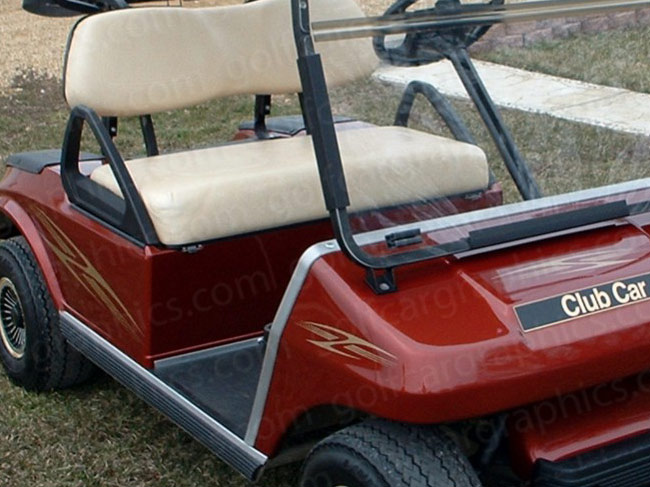 golf cart design aurora
