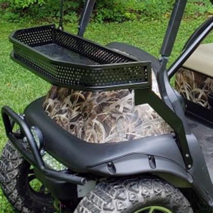 BushWolf-Grassland golf cart wrap camo installed by first time user