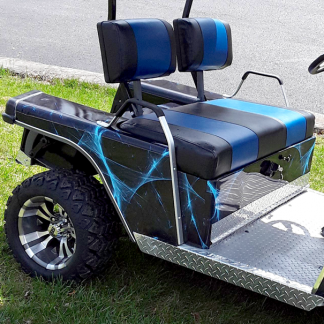 Liquid web golf car wrap kit