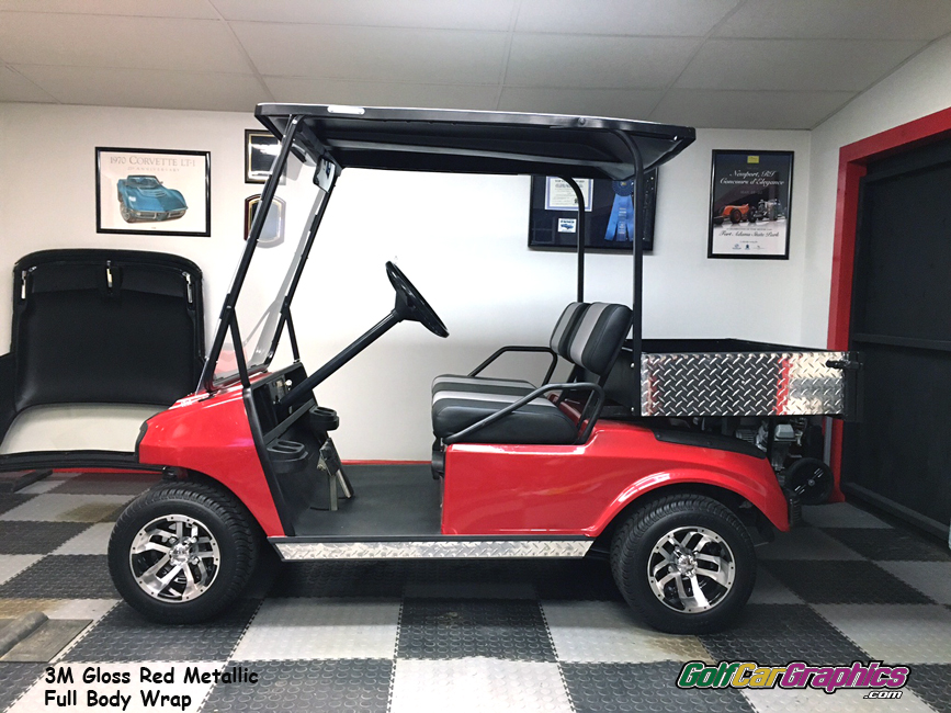 gloss-red-metallic-cart-vinyl-wrap