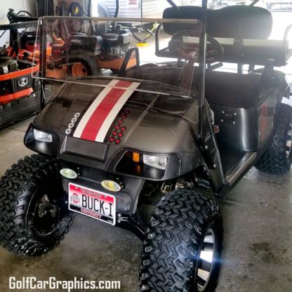 Golf-cart-Racing-Stripe-kit