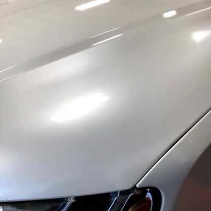Gloss Pearl White golf cart wrap kit