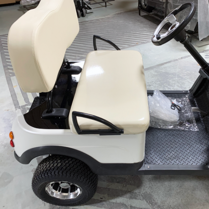 Pearl-White-golf car wrap