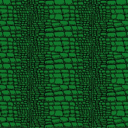 Alligator Skin Green golf cart wrap pattern for all makes of golf cars