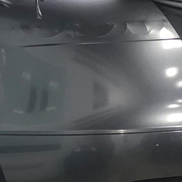 Gray Metallic Racite Gloss golf car wrapping film additional metal flake.