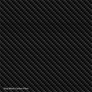 Gray-Black carbon fiber digital wrap pattern